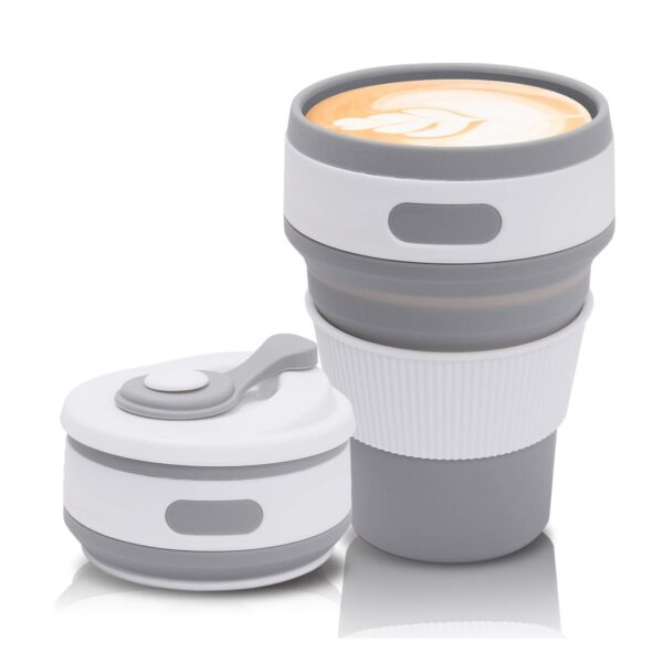 Best Collapsible Coffee Cup in Bangladesh, Silicone Folding Coffee Mug, best collapsible drinking cup, Collapsible Coffee Mug Price in BD, 350ml Coffee Cup