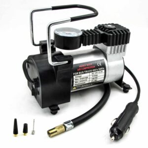 Portable Mini Air Compressor Machine in BD, Mini Tyre Inflator, DC 12V Portable Mini Tire Inflator Price in Bangladesh for Car, Bike & Bicycle