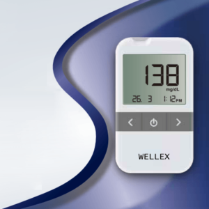 Wellex Blood Glucose Monitoring System, Best Blood Sugar Test Meter, Best Result Blood Glucose Test Meter in Bangladesh, Best Diabetic Test Meter in BD