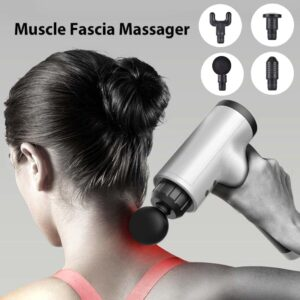 Rechargeable Fascial Massage Gun in Dhaka, Fascial Gun Price in BD, Muscle Relaxation Therapy Gun in Bangladesh, Body Massager Price in BD