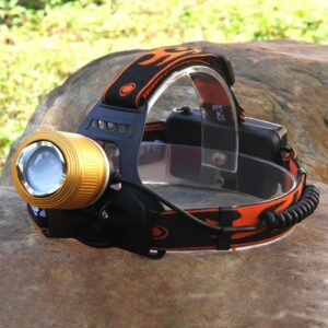 Dual Light Source Rechargeable Head Lamp, Powerful LED Headlamp in Dhaka, Rechargeable LED Headlamp in BD, Flashlight in Bangladesh