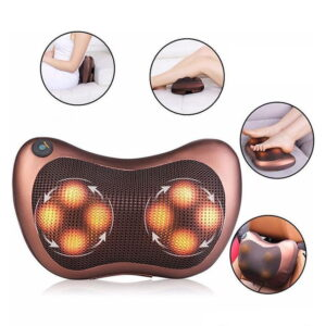Car and Home Massage Pillow in Dhaka, Neck Massager Price in BD, Body Massager in BD, Pillow Massager Price in BD, Massager for Back Pain, Car and Home Massage Pillow-Neck Massager in Bangladesh